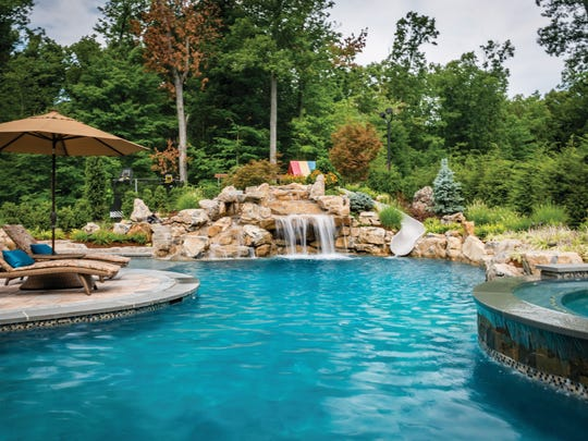 Wyckoff backyard designed by Terracare Landscaping,