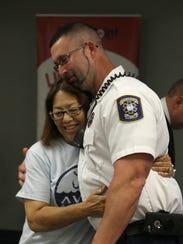 Sudden cardiac arrest survivor Patricia Jablonski,