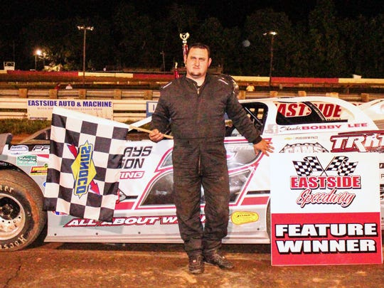 Justin Williams was the winner in the second late model