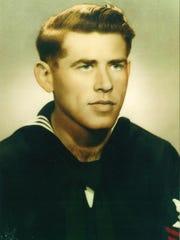 James Carter's official Navy photograph.