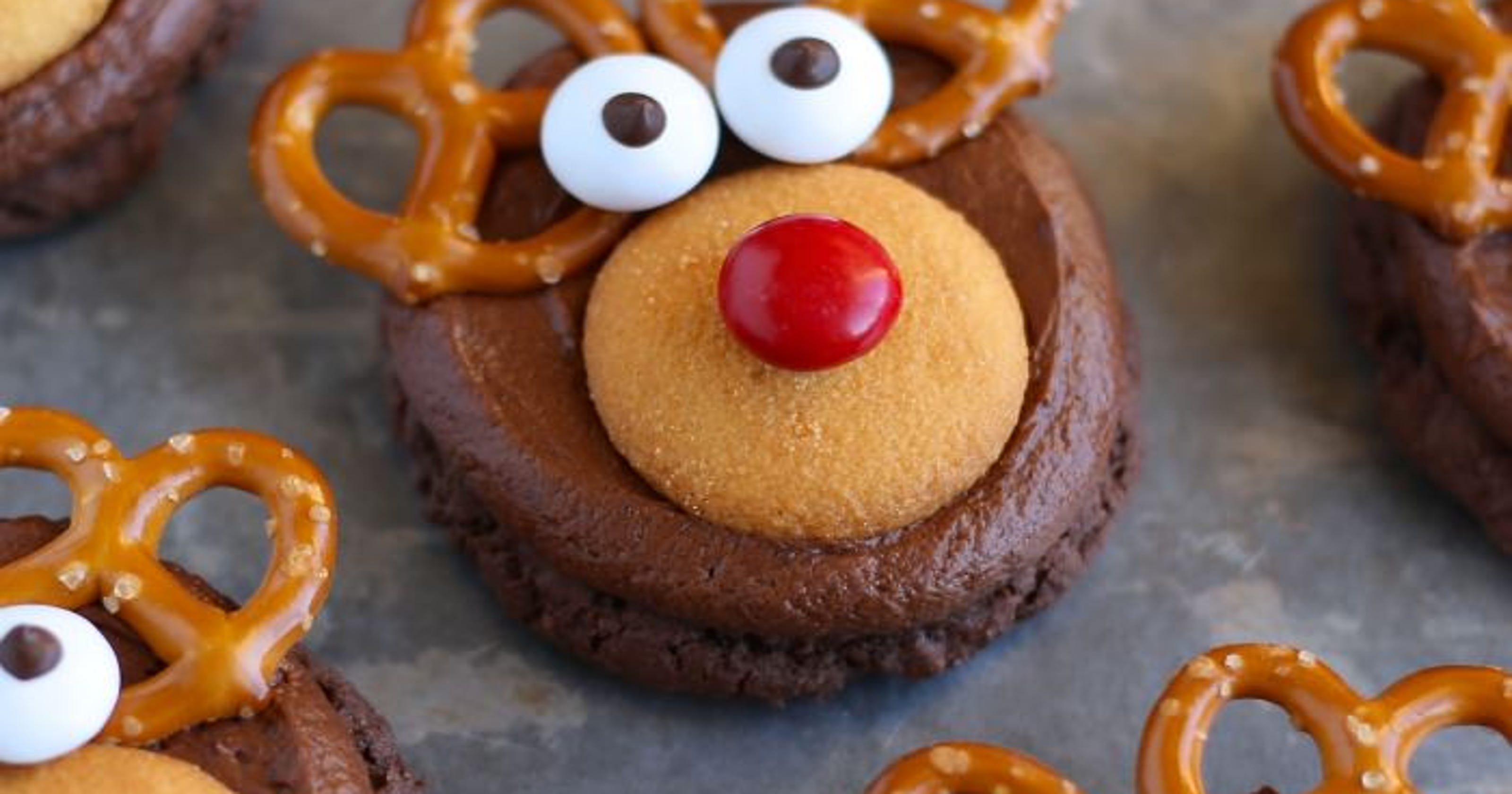 Recipe No Bake Rudolph Cookies