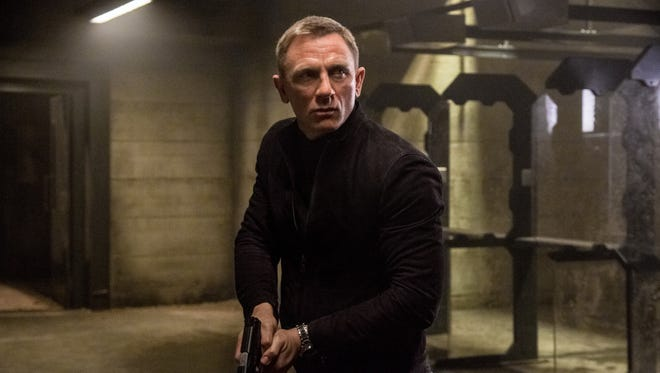 Daniel Craig as James Bond in 'Spectre.'