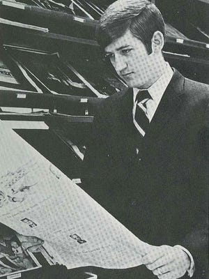 In 1970, when the Pandora, UGA's yearbook, asked to take a picture, I walked into the journalism school's John E. Drewry Reading Room. Maybe it was prophetic, because I posed reading a newspaper. At the time, I had no idea I would become a newspaper publisher.