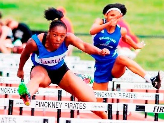 Lakeland sophomore Grace Stark was Division 1 runner-up
