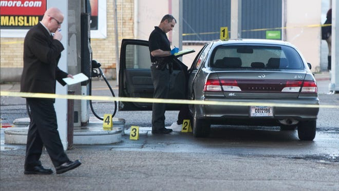 A man was fatally shot at approximately 6 p.m. Sunday night at a gas station in Avondale.