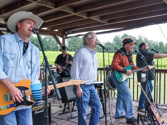 Code Blue and the Flatliners perform from 4-7:30 p.m. Saturday at Landry Vineyards.