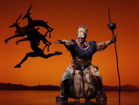 The Lion King opens at the Aronoff Center.