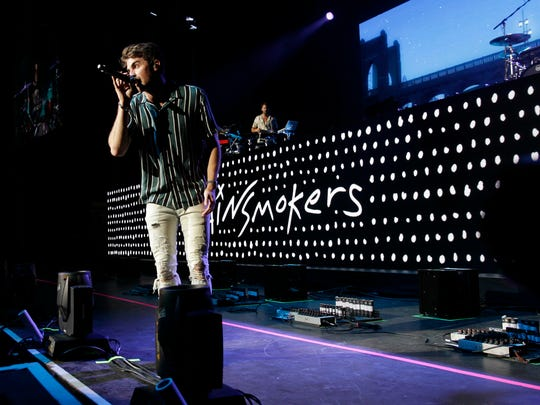The Chainsmokers performs at Summerfest's American Family Insurance Amphitheater July 4.