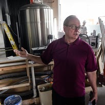 Owner Roy Dodds talks about plans for the new Urban Moose Brewing Co. during an interview near the bar area Wednesday, June 15, 2016, in Sauk Rapids.