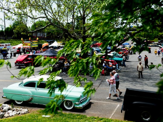 Chilhowee Park was site of the 44th annual Street Rod Nationals South in May.