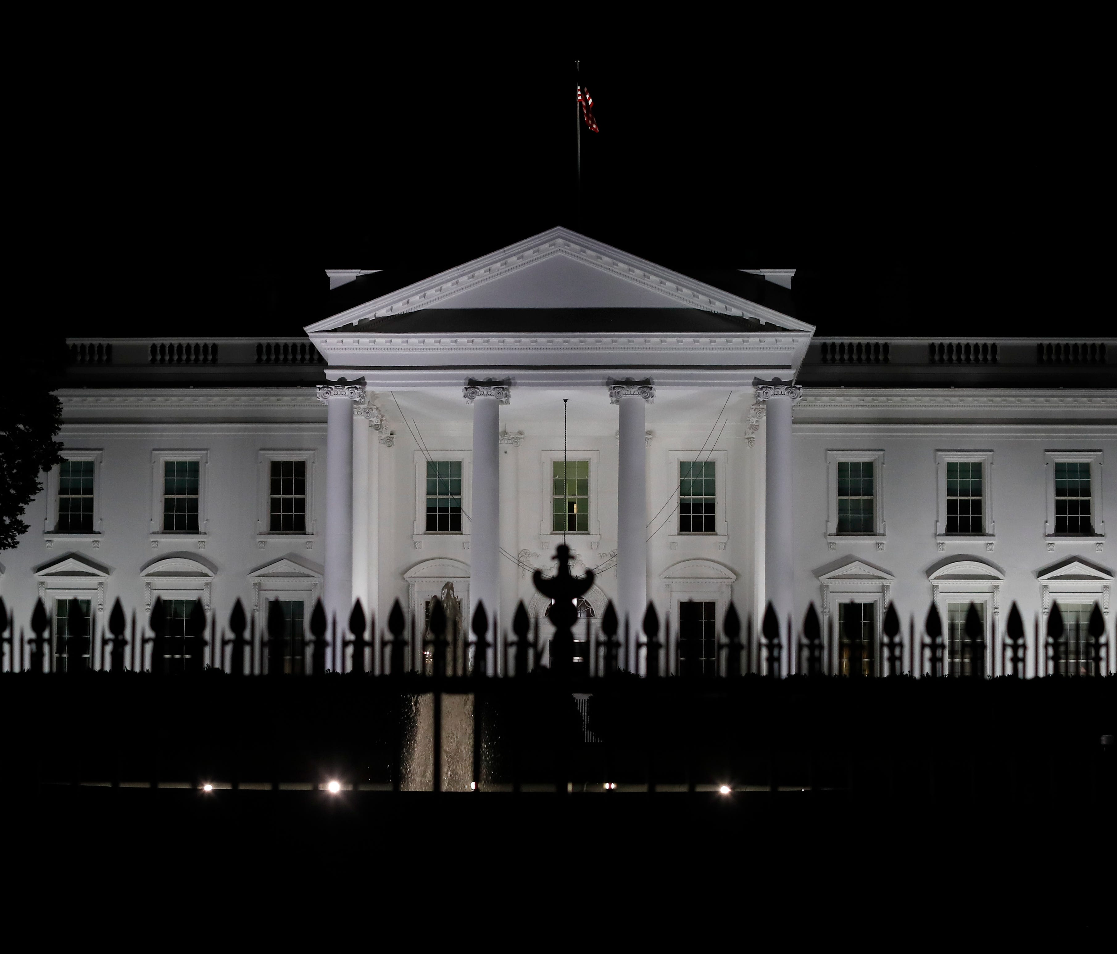 The White House as seen in Washington on Tuesday.