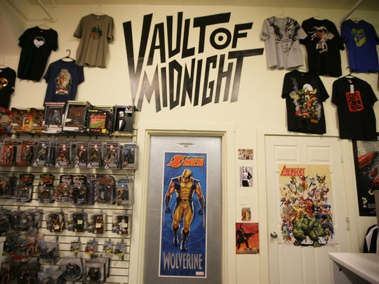 The Vault of Midnight specialize in vinyl toys, comic books and gaming supplies.