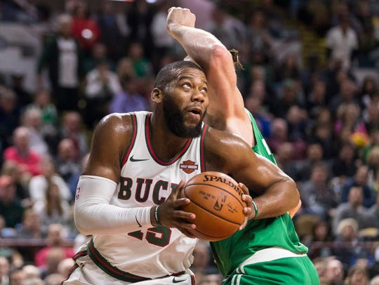 Bucks center Greg Monroe, a former Piston, will miss at least two weeks with a calf injury.