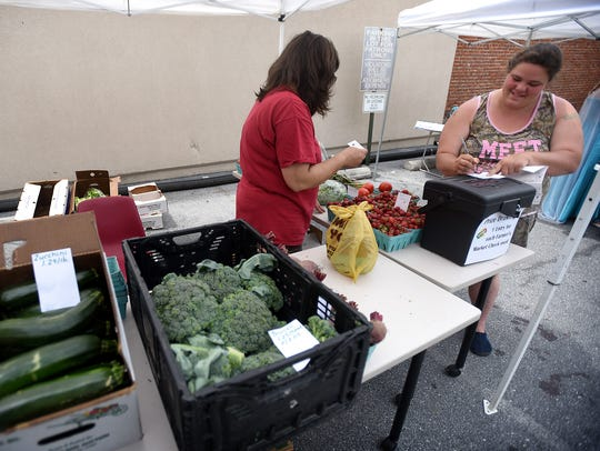 Tina Forry, of Risser-Marvel Farm Market in South Londonderry