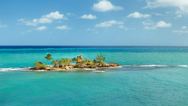 The Couples Tower Isle resort in Jamaica has a private island where bathers can shed clothing.