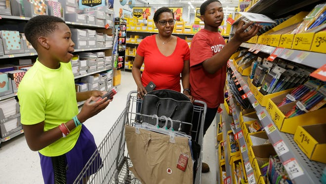 Getting organized and buying supplies early can help alleviate back-to-school stress.