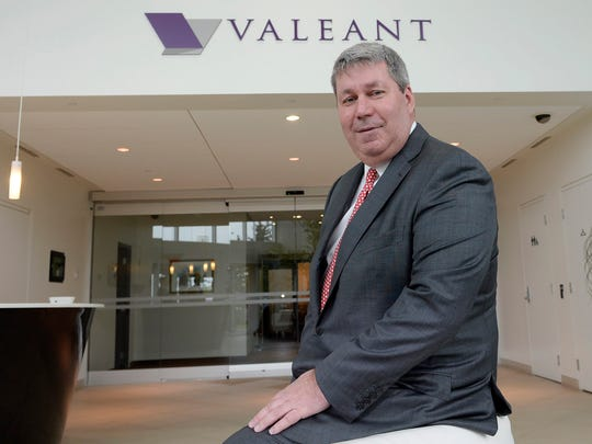 File photo taken in 2015 shows Valeant Pharmaceuticals