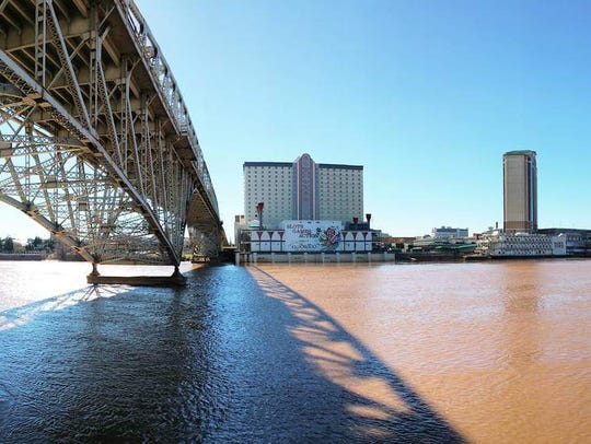 Red River Cruise takes passengers on a tour of the cities' riverfront.