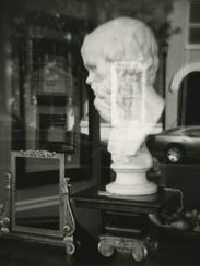 """""""Socrates in Hudson, NY,"""" by Eric Lindbloom."""