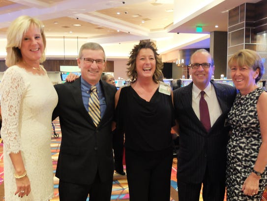 TROPICANA GRAND OPENING – The big wigs were in town