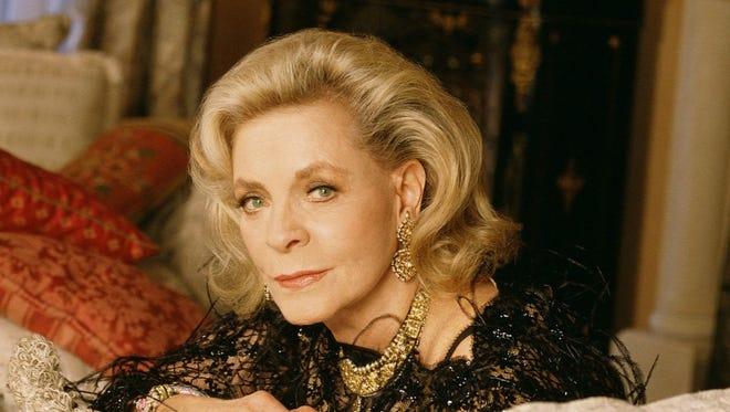 """Lauren Bacall the CBS miniseries """"Too Rich: The Secret Life of Doris Duke"""" in 1999."""