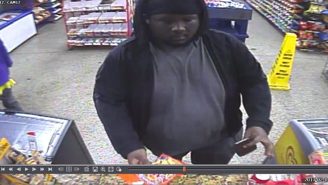 The Escambia County Sheriff's Office is seeking this man in connection with a shooting early Wednesday morning near Massachusetts Avenue and Diego Circle.