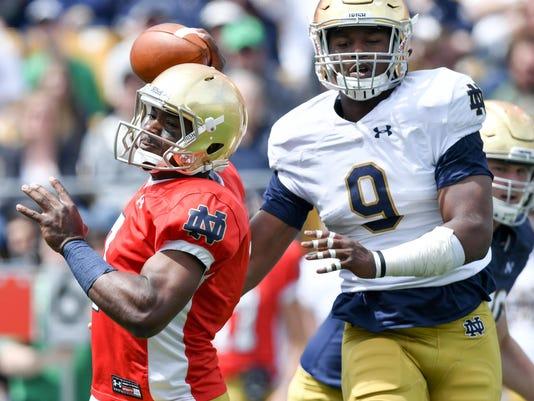 NCAA Football: Notre Dame Spring Game