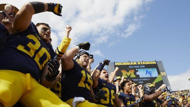 It wasn't pretty, but a win's a win for Michigan.