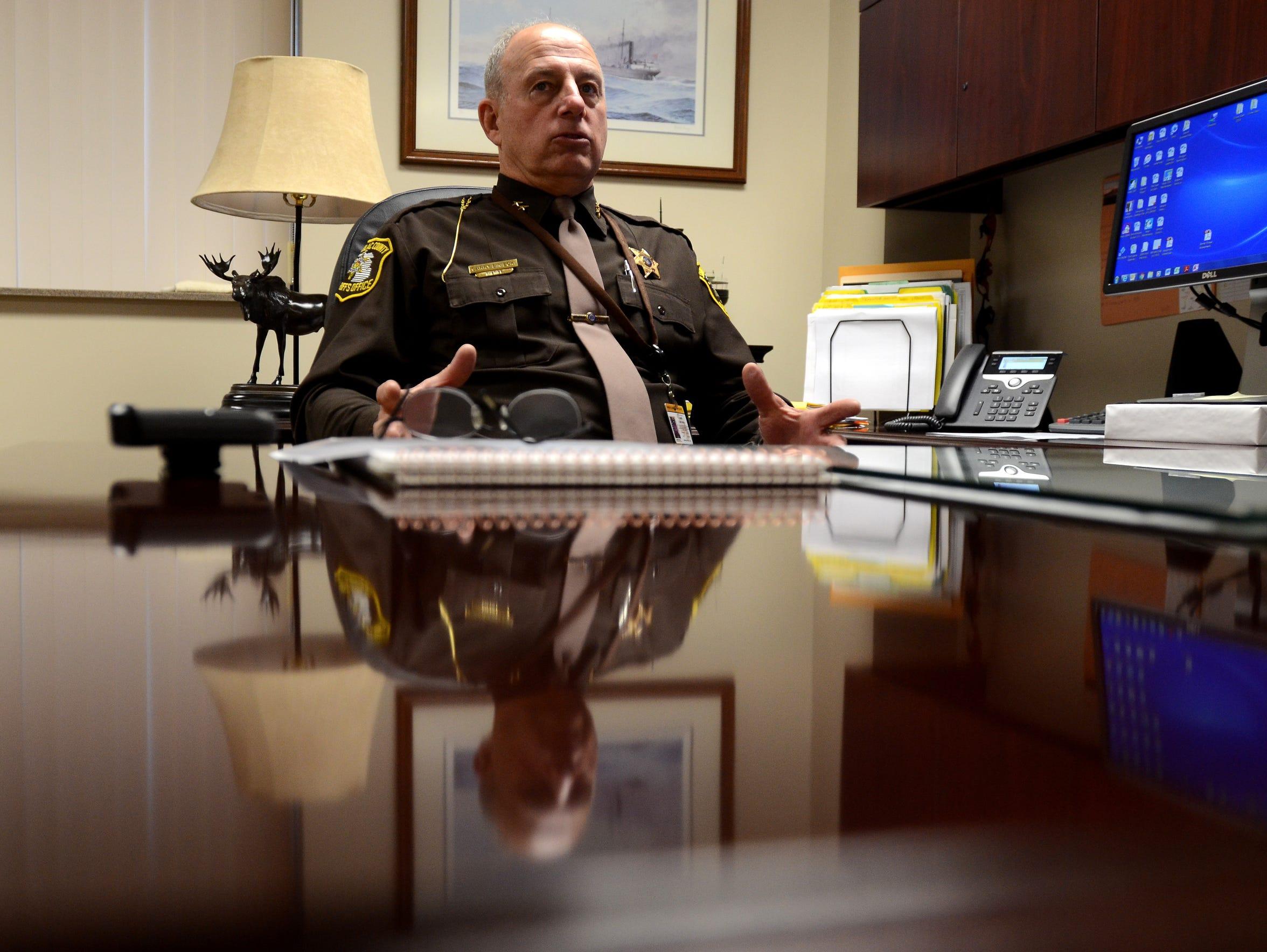 Sanilac County Sheriff Garry Biniecki talks about the