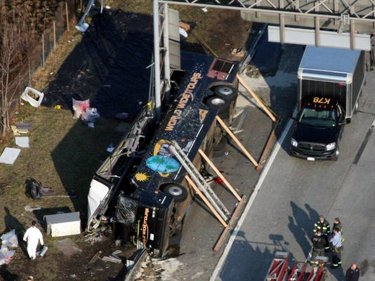 AP NY BUS SAFETY A FILE USA NY