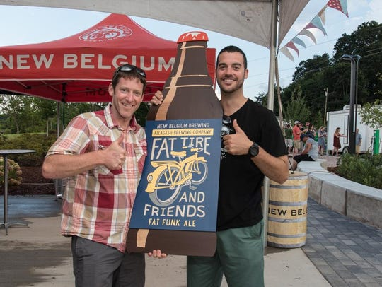 Scenes from New Belgium Brewing's 25th Birthday Bash