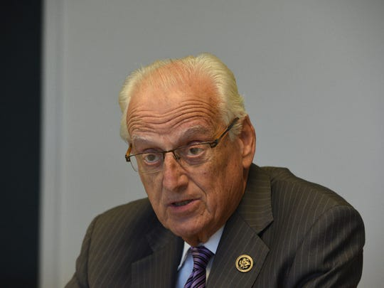 Rep. Bill Pascrell Jr. is the top-ranking Democrat