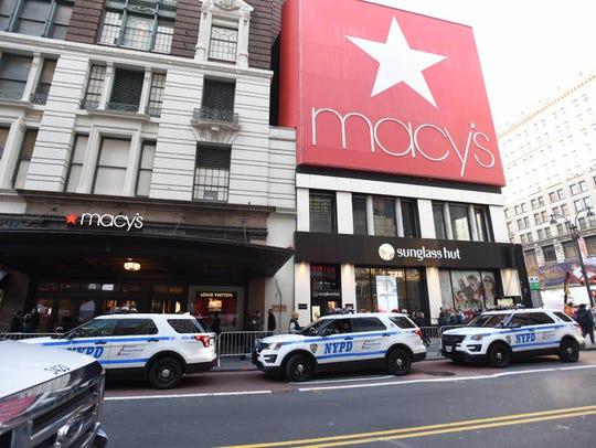 Macy's headquarters at Herald Square in Manhattan.