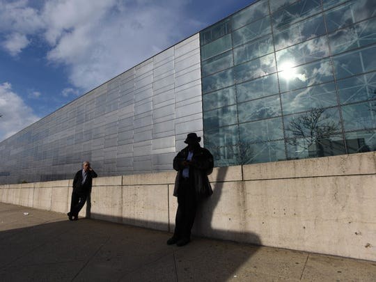 The Jacob Javits Center in Manhattan replaced 6,000 window panels with less reflective glass in recent years and bird collisions plummeted. The original reflective style can be seen at right.