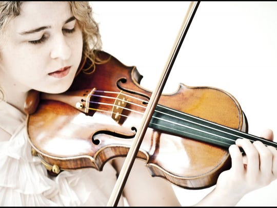 Caroline Goulding plays the Mendelssohn Violin Concerto Saturday with the Southwest Florida Symphony Orchestra.