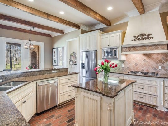 The kitchen at 83 Victorias Drive.