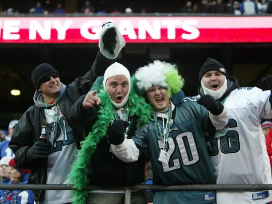 These Philadelphia Eagles backers would feel right