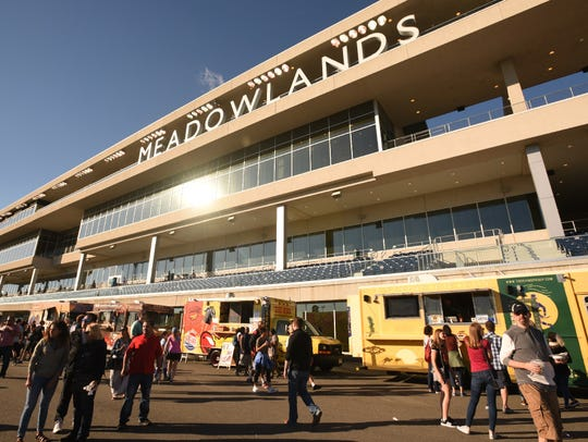 There will be live racing every weekend at the Meadowlands