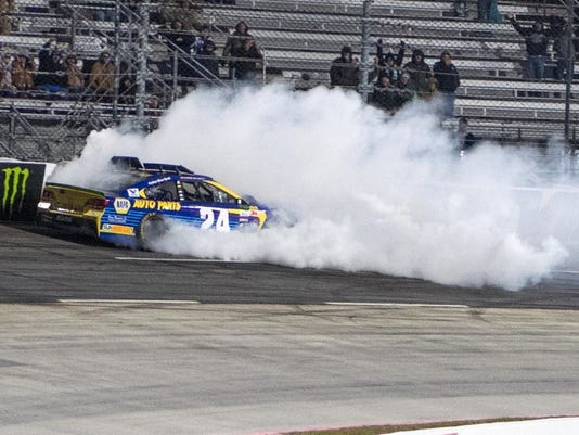 Chase Elliott crash