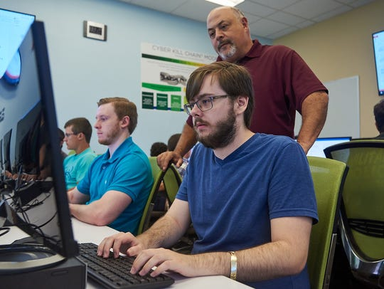 University of West Florida students learn the latest