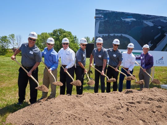 Lakeside Foods leaders, joined by Manitowoc Mayor Justin Nickels and representatives from Miron Construction, Excel Engineering and Wisconsin Bank & Trust, broke ground July 18 on a 100,000-square-foot addition to the company's packaging facility on South 30th Street in Manitowoc. The $40 million project will expand the facility's frozen warehouse and refrigerated packaging space to foster growth and product innovation in the frozen foods category.