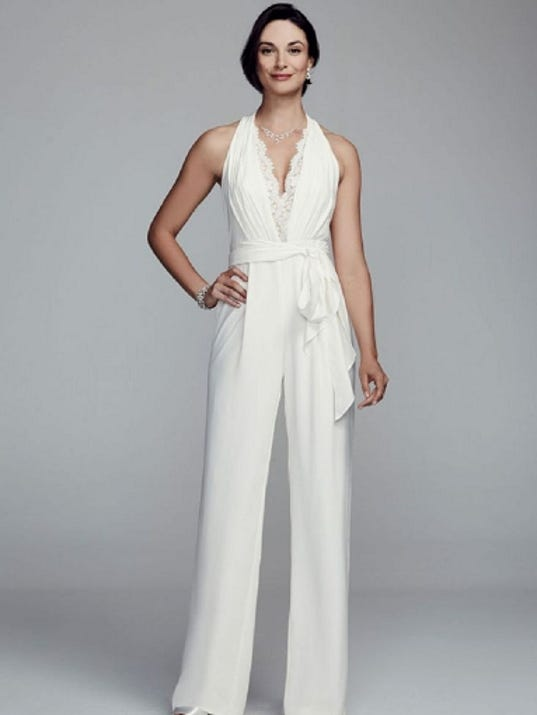 Trende solange knowles inspires bridal jumpsuits holiday for Hochzeit jumpsuit
