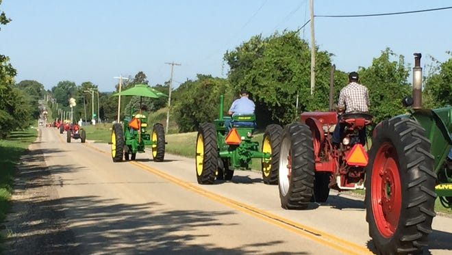 The East Central Benefit Tractor Cruise will hold its annual tractor cruise fundraiser on Aug. 26.