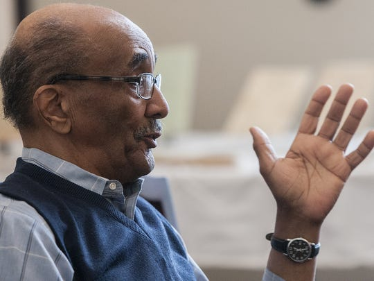Lansing resident Fred Porter talks about being a black