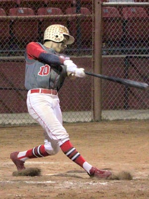 Andru Sanchez had a good day at the plate against Morenci. He went 2-for-3, with a double, a triple and two RBIs.