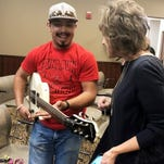 Guitar from America bassist strikes right chord with TSTC student