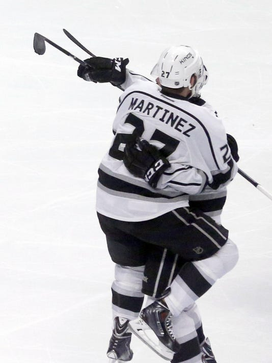 Kings Blackhawks Hockey