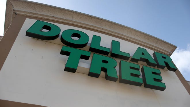 A Dollar Tree store is seen July 28, 2014, in Miami, Florida. A Dollar Tree store will soon be opening in the former Space Aliens building in Waite Park.