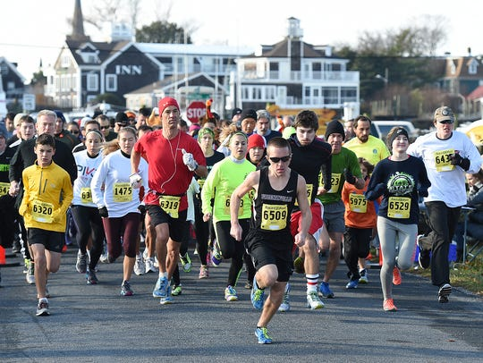 The Inaugural Gabby Gobble 5K was held on Thanksgiving