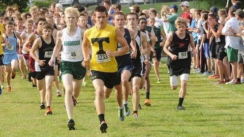 The WNC Cross Country Carnival is held annually at Hendersonville's Jackson Park.